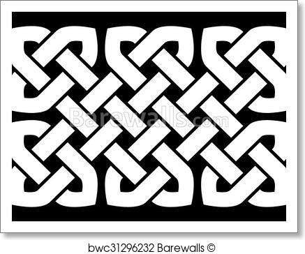 437x364 Art Print Of Celtic Knot Vector Illustration Barewalls Posters
