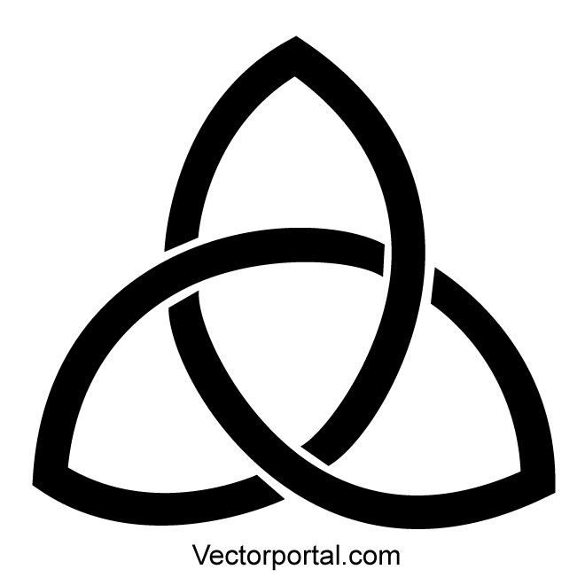 660x660 Triquetra Vector Sign