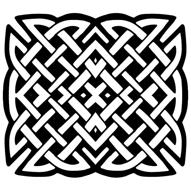 660x660 Celtic Knot Decorative Vector