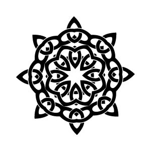 300x300 Celtic Knot Vector Art