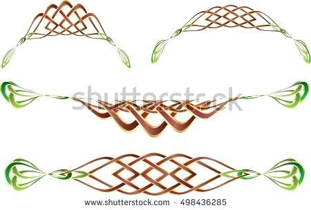 450x305 Celtic Knot Border Clip Art Knot Border Clip Art Stock Vector Knot