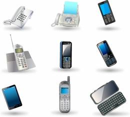 260x234 Download Celular Vector Clipart Feature Phone Smartphone Mobile Phones