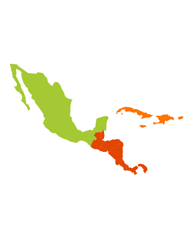 Central America Map Vector at GetDrawings.com | Free for personal ...