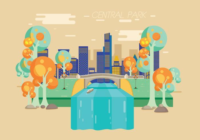 700x490 Central Park Vector
