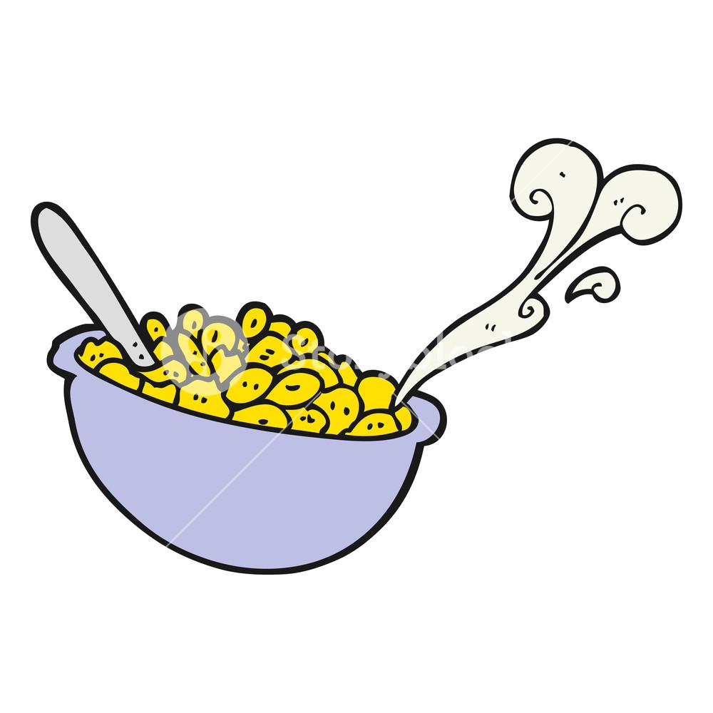 1000x1000 Cereal Bowl Splash Milk Healthy Wholesome Stock Vector Hd (Royalty