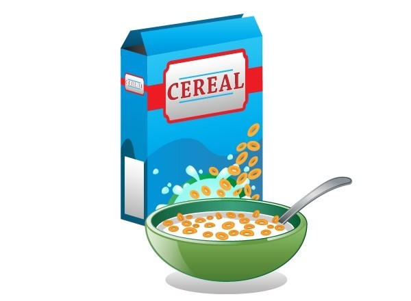 600x440 Cereal Box Vector