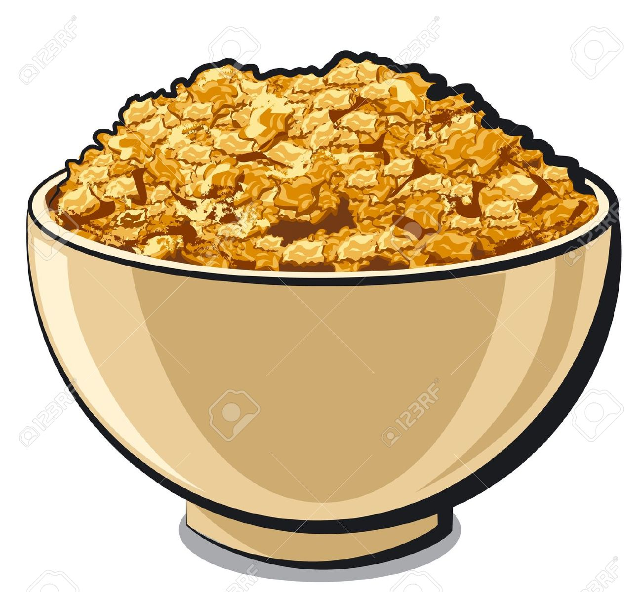 1300x1199 Cereal Clipart Colorful