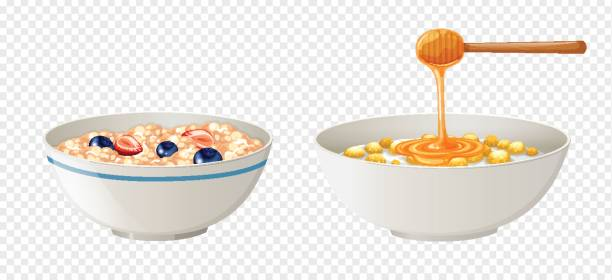 612x280 Collection Of Cereal Bowl Clipart High Quality, Free