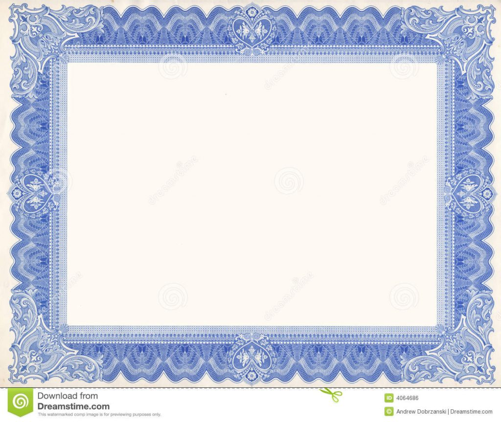 Certificate Border Vector Free At Getdrawings Com Free For