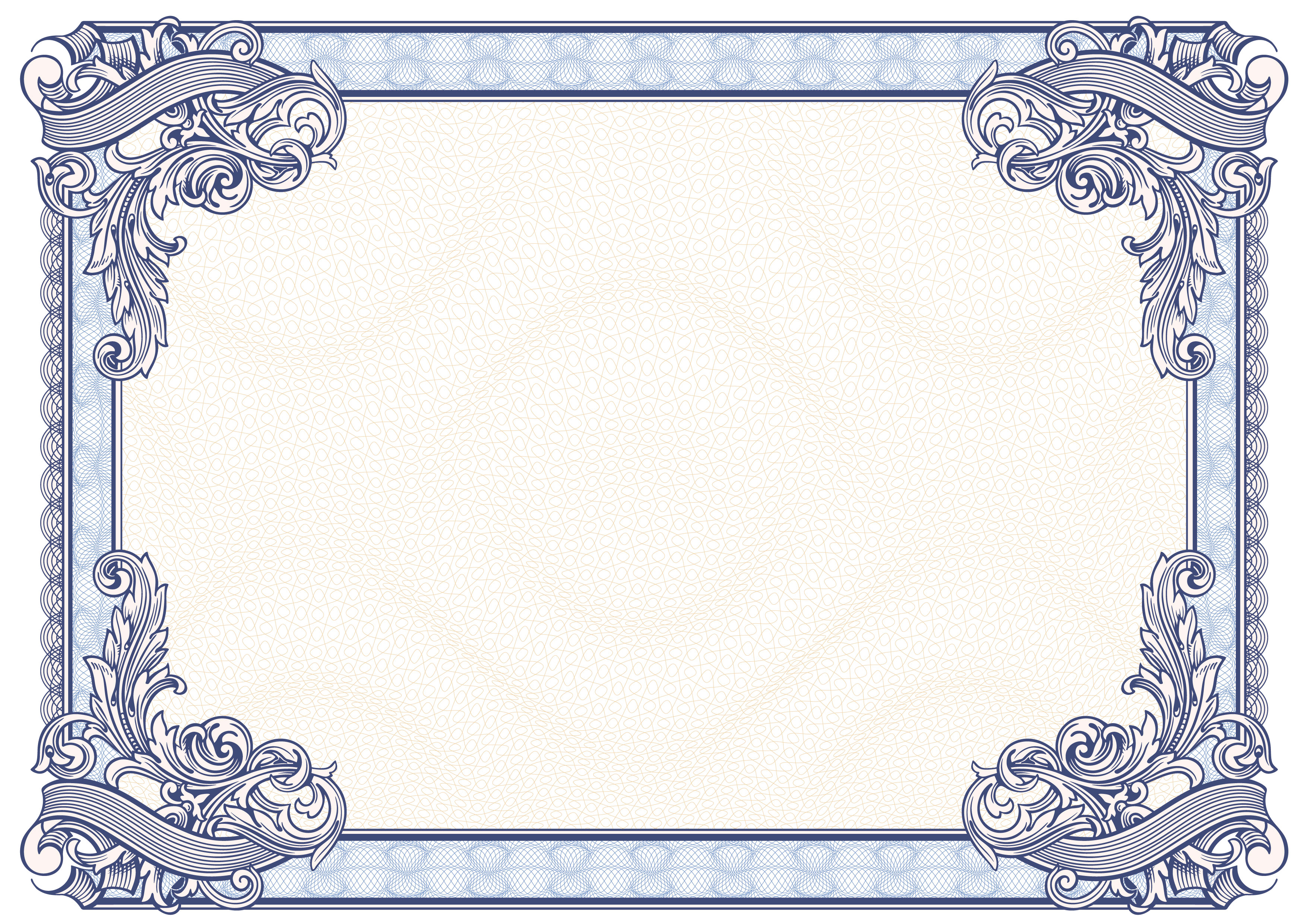 Certificate Border Vector Free at GetDrawings com | Free for