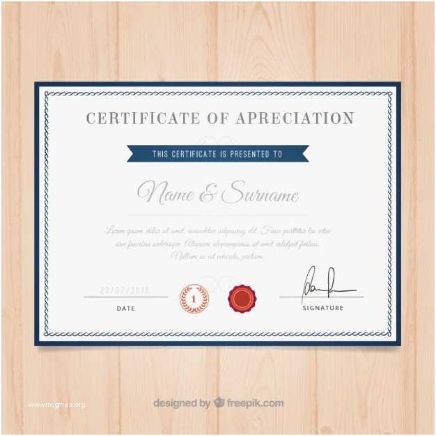 Certificate Border Vector Free Download