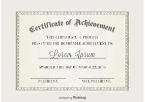285x200 Certificate Frame Free Vector Graphic Art Free Download (Found