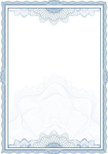 380x539 Elegant Diploma With Certifikate Frame Vector 05 Backgrounds