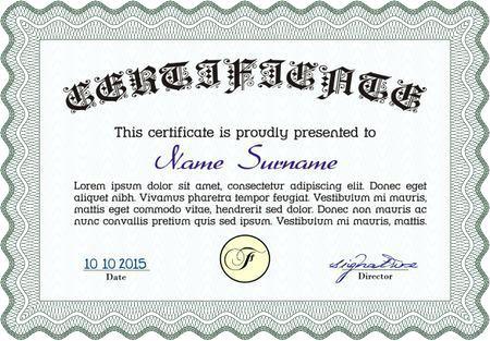 450x313 Free Stock Vector Sample Certificate Frame Template Ustam.co
