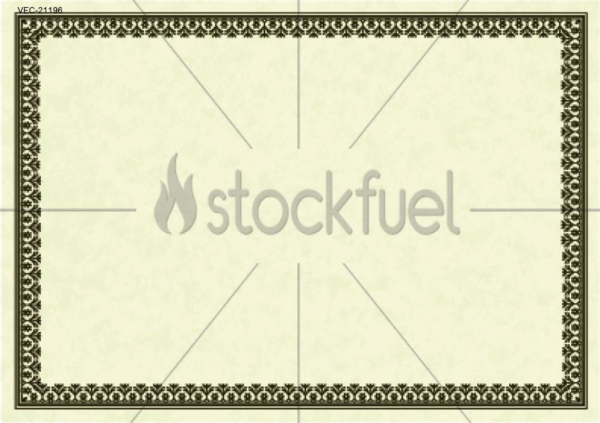 851x600 Vector Certificate Frame Vector Graphics Stockfuel