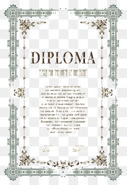 260x379 Certificate Frame Png, Vectors, Psd, And Clipart For Free Download