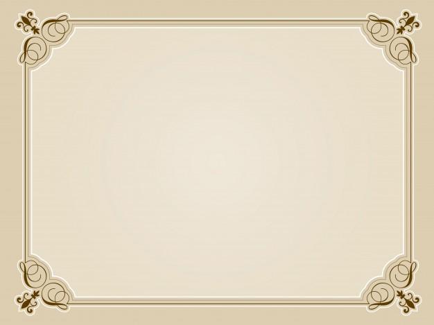 626x469 Certificate Frame Psd