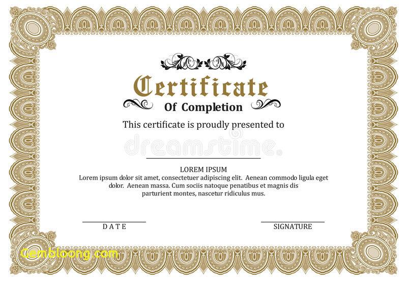 800x552 Certificate Frames Templates Elegant Certificate Frame Template
