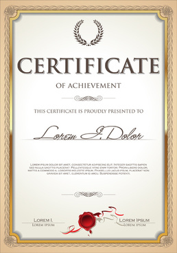 258x368 Certificate Frame Free Vector Download (6,424 Free Vector) For
