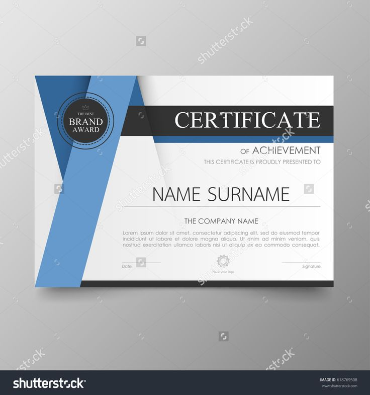 736x785 9 Best Award Certificate Images Certificate Seal