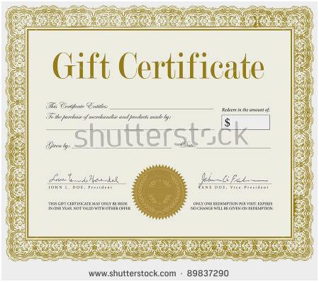 450x397 Cool Gift Certificates Amazing Vector Premium Certificate Template