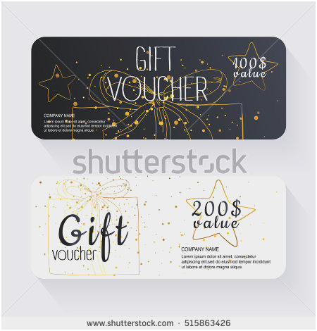 450x470 Gift Certificate Vector Lovely Gift Stock Royalty Free Amp Vectors