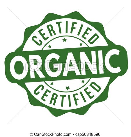 450x470 Certified Organic Sign Or Stamp. Certified Organic Grunge Rubber
