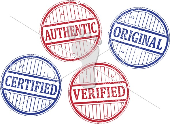 590x431 Certified Authentic Verified Original Vector Rubber Stamps