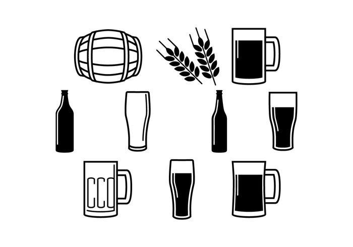 700x490 Icono De La Cerveza De Vectores Libres