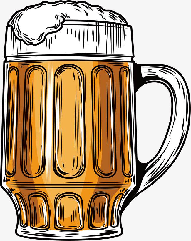 650x819 Summer Draught Beer, Vector Png, Beer, Beer Mug Png And Vector For
