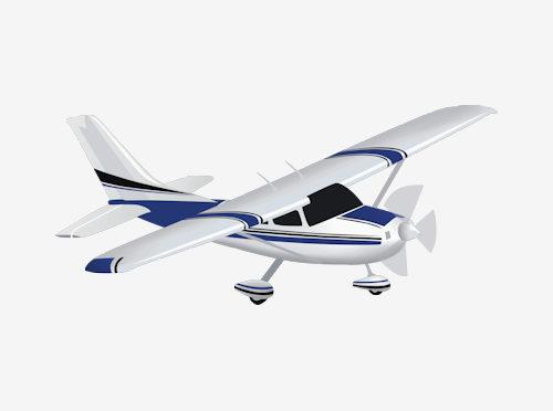 500x372 Aircraft Clipart Cessna Airplane 3018936