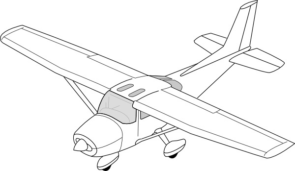 600x349 Vector Cessna Free Vector Download (5 Free Vector) For Commercial