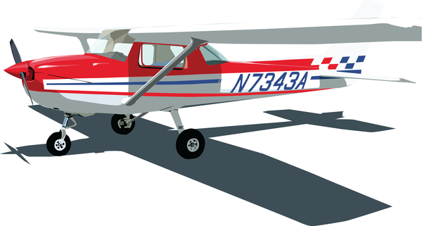 600x321 Cessna 150 Vector By Mykmykmyk Cessna 150 Cessna 150
