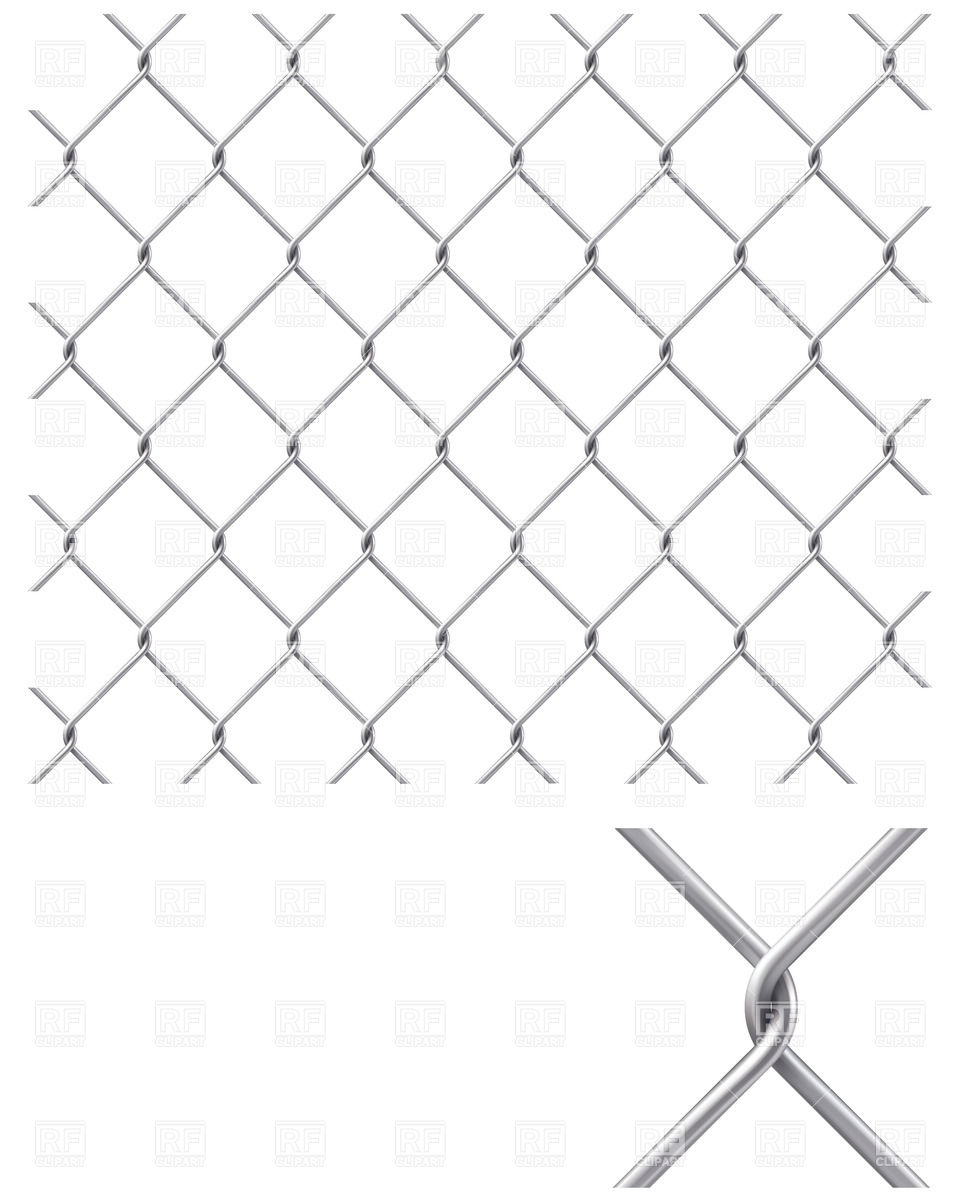 960x1200 Chain Link Fence Vector Image Vector Artwork Of Backgrounds