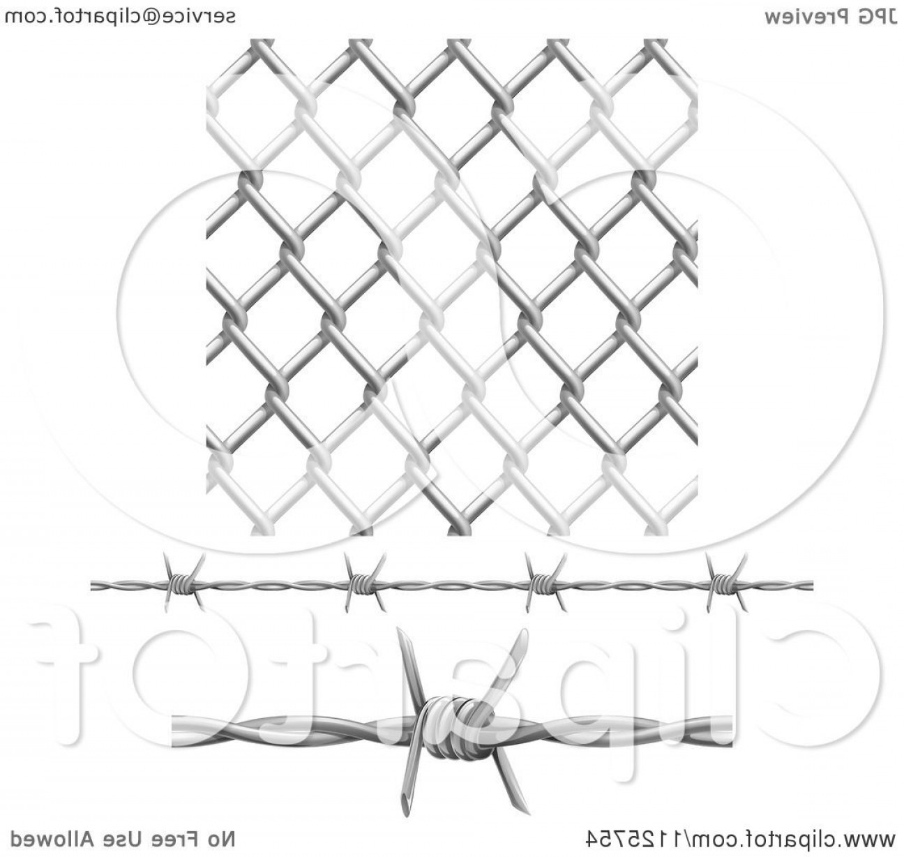 1296x1228 Barbwire Fence Vector Lazttweet