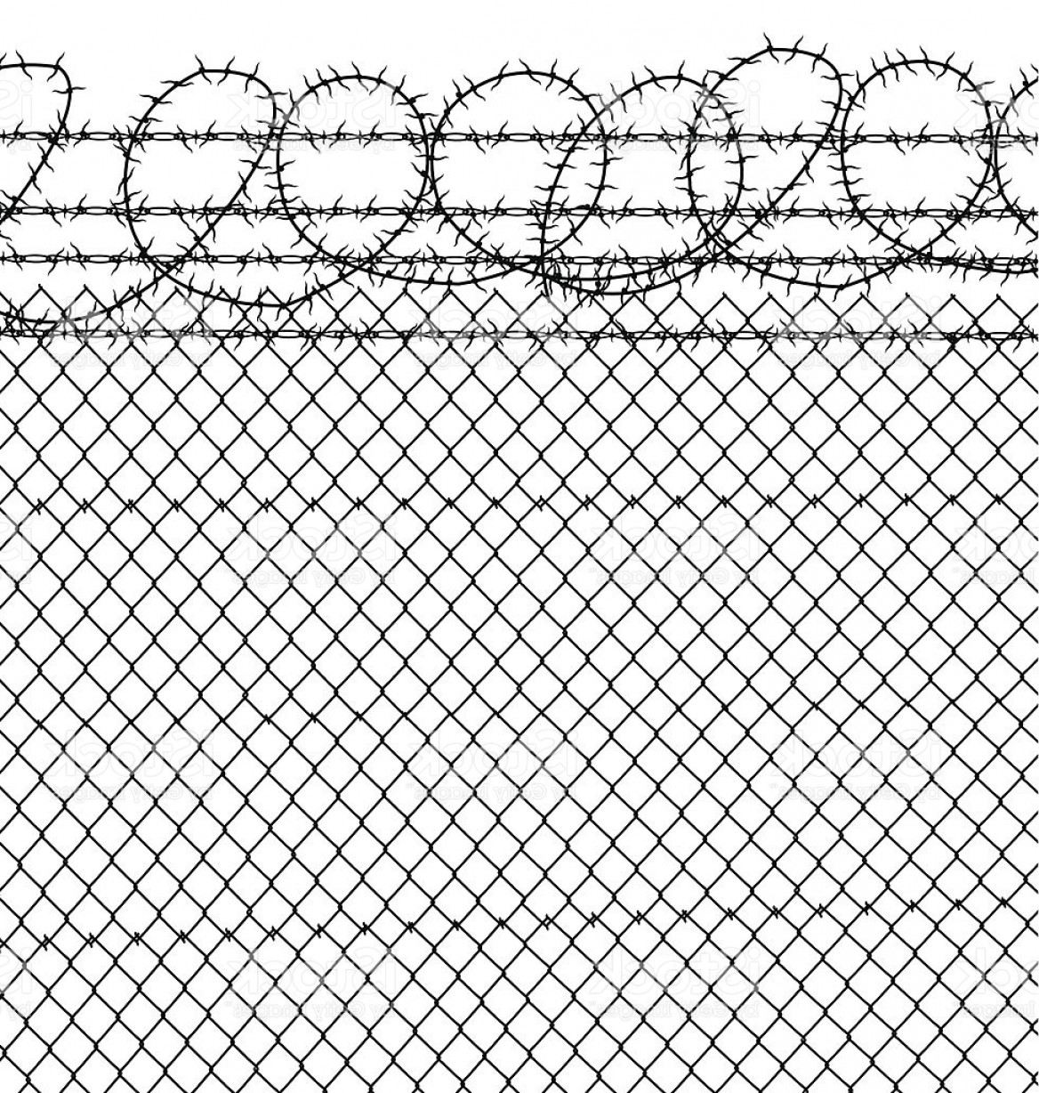 1168x1228 Prison Barbed Wire Chain Link Fence Gm Sohadacouri