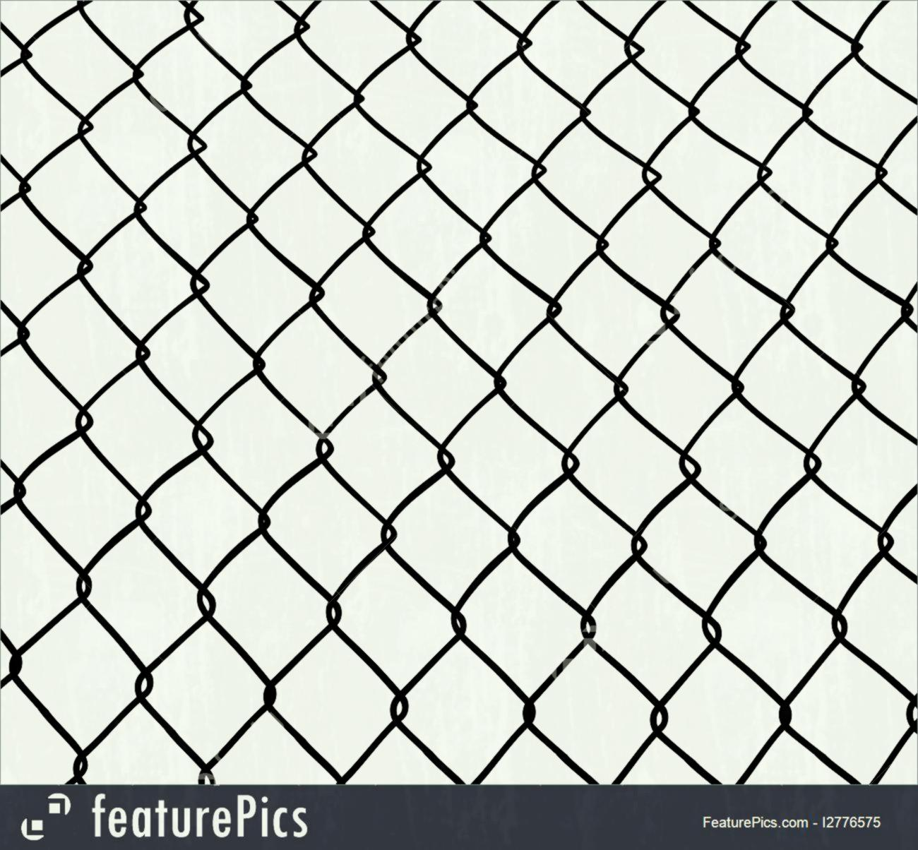 1300x1204 Safety And Security Chain Link Fence Seamless White Background