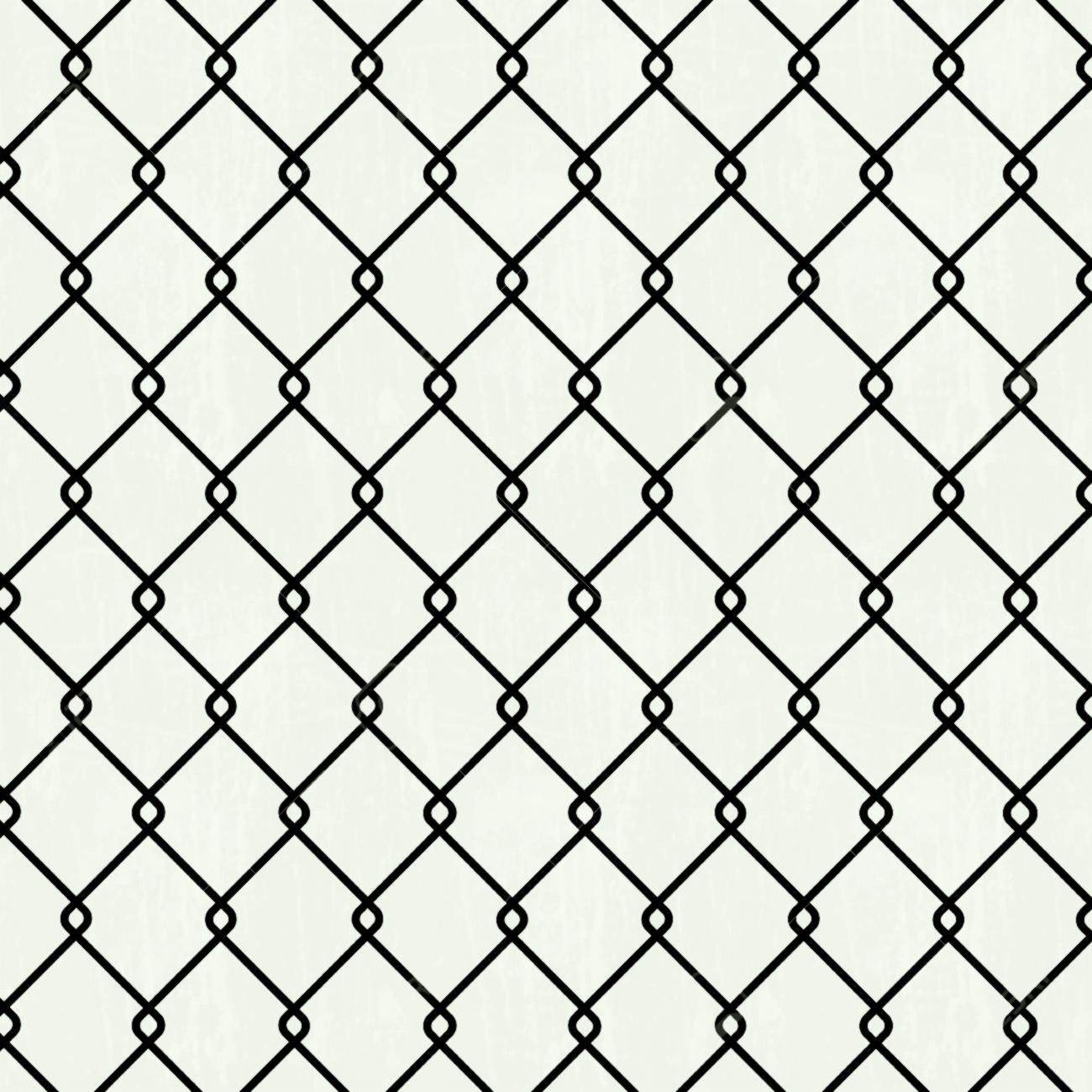 1300x1300 Seamless Chain Link Fence Background Royalty Free Stock Vector Art