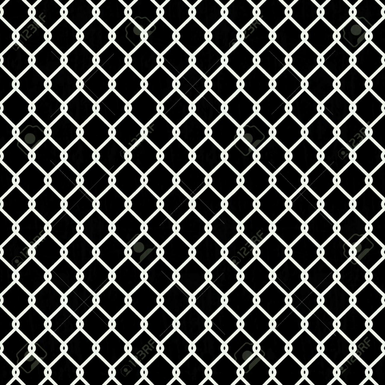 1300x1300 Seamless Chain Link Fence Pattern Texture Wallpaper Stock Vector