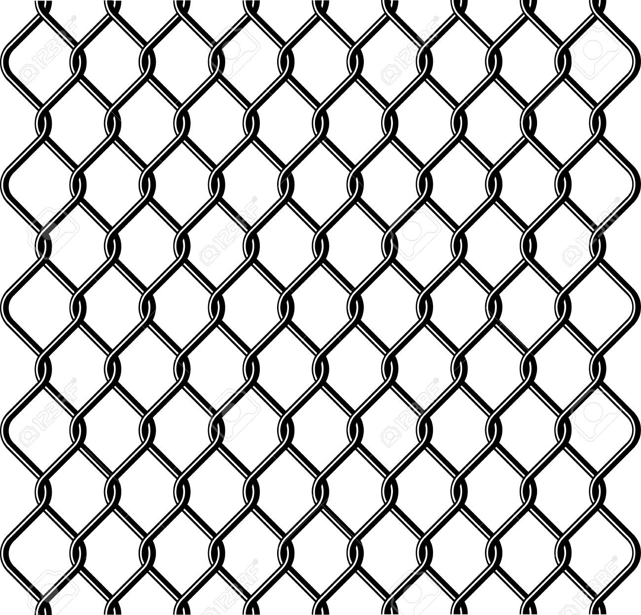 1300x1246 Chain Link Fence Vector 15694 Cape Coral