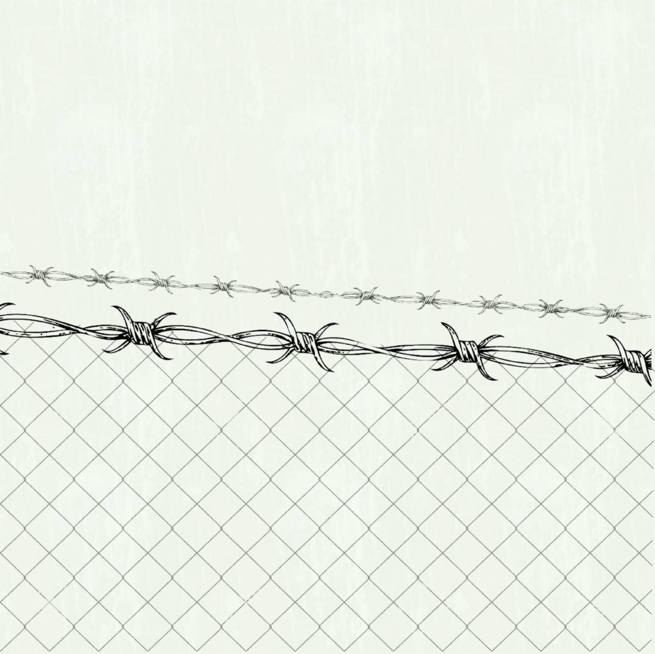 1300x1297 Chain Link Fence Vector X Drawing S Fizzyinc Co