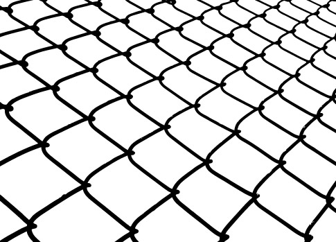 485x349 Chain Link Fence Vector. Chain Link Fence Seamless Pattern Chain