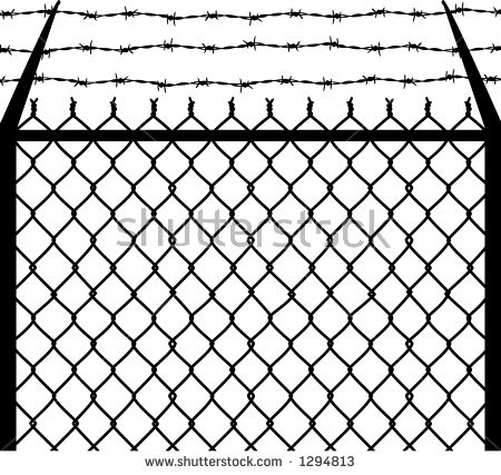 450x427 Chain Link Fence Vector 15692 Cape Coral