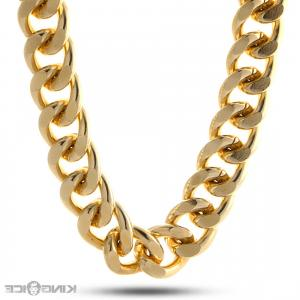 300x300 Gold Chain Necklace With Love Word Pendant Vector Illustration Gm