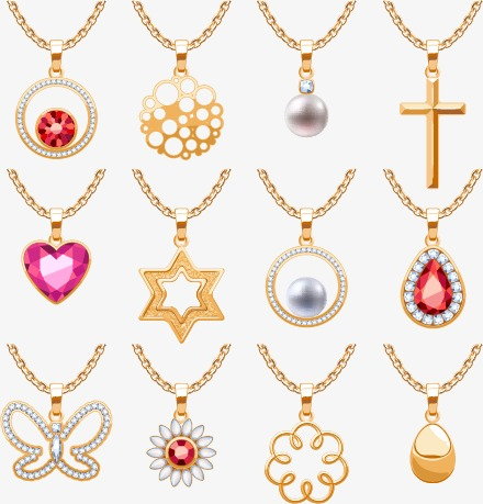 440x459 Golden Necklace Png, Vectors, Psd, And Clipart For Free Download