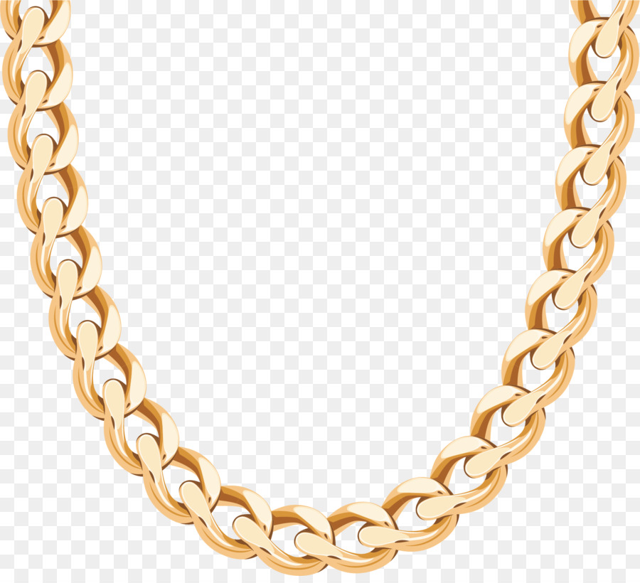 900x820 Necklace Chain Gold Earring
