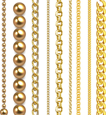 339x368 Chain Necklace Vector Free Vector Download (237 Free Vector) For
