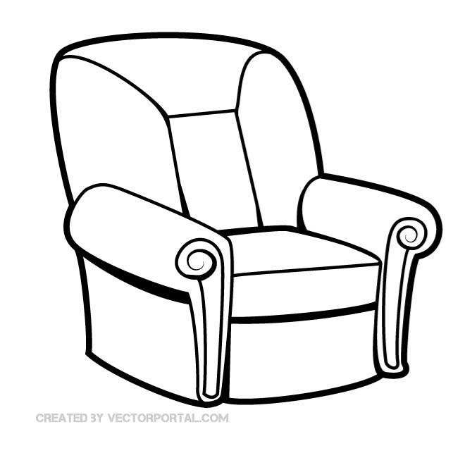 660x660 Free Seat Chair Vector Graphics.eps Psd Files, Vectors Amp Graphics