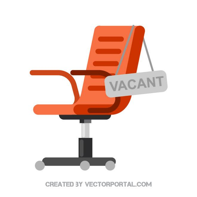 660x660 Vacant Chair Vector Image