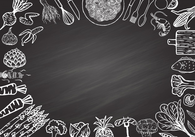 626x441 Chalk Elements Frame Vector Free Download